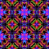 Abstract decorative cross lined pattern