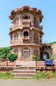 Historic Temples Of Ancient City Of Mandor