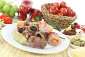 Tapas Stuffed With Fruits