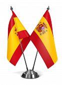 Spain - Miniature Flags.