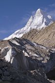 Shivling and Gomukh glacier