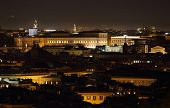 Quirinale At Night, Rome