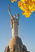 Kiev Mother Motherland monument in Ukraine