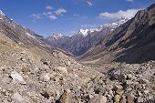 Valley of Bhagirathi river