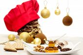 Christmas Chocolate Sweets And Cookies