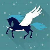 Pegasus Horse Background
