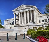 pic of laws-of-attraction  - White US Supreme Court Capitol Hill Washington DC - JPG