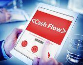 Cashflow Investing Banking Money Revenue Investment Concept