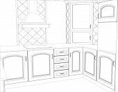 picture of interior sketch  - sketch design interior - JPG