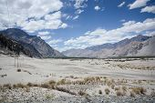 stock photo of jammu kashmir  - Desert of Nubra valley at Ladakh Jammu and Kashmir India - JPG