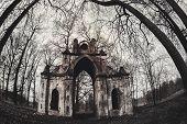 stock photo of manor  - The Demidovs Manor in Taitsy Leningrad region Russia - JPG