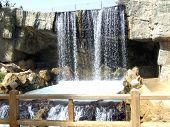 Waterfall Japanese Park