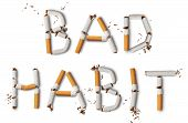 stock photo of  habits  - Text  - JPG