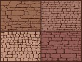 pic of wall-stone  - Stone masonry set - JPG
