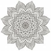 pic of indian  - Mandalas collection - JPG