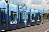 tram comes to CERN