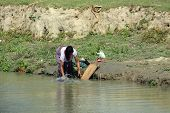 Washing Clothes In Assam