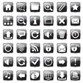 web icons black