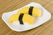 Sushi - Tamago Nigiri