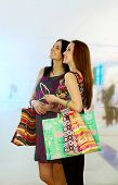 pic of shopping center  - women in a shopping center - JPG
