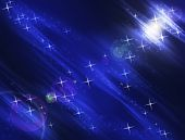 Night Stars Background