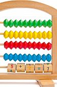 Children's Abacus With Color And Digital Elements