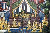 Legende der Buddha-Statue.