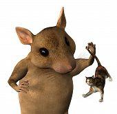 Fantasia de rato - Closeup