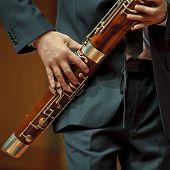 bassoonist on chamber music