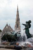 Gefion Fountain. Copenhagen, Denmark.