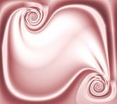 Abstract Satin Swirl Scroll Design With Copyspace