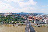Slovakia, Bratislava, Skyline