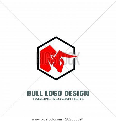 Red Bull Logo Design Vector