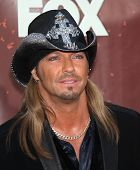 LOS ANGELES - OCT 06:  Bret Michaels arrives to the American Country Awards 2010  on October 06, 201