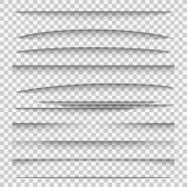 Shadow Dividers. Line Paper Design Panel Shadow Effects Divider Webpage Edge Template Tabs Group, We poster