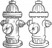 Fire hydrant sketch