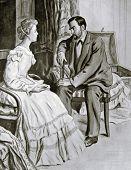 Rendezvous - Illustration by M. Shcheglov,