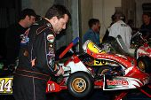 Tony Stewart at Indy Karting Classic