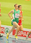 BARCELONA, SPAIN - JULY 29: Mark Christie of Ireland competes on the Men 5000m during the 20th Europ