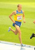 BARCELONA, SPAIN - JULY 29: Serhiy Lebid of Ukraine competes on the Men 5000m during the 20th Europe