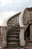 Stair in Cienfuegos, Cuba