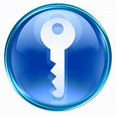 Key Icon Blue