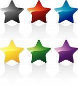 Estrellas del vector