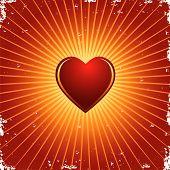Corazón de San Valentín de Vector