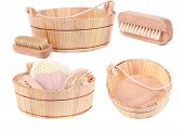 Objects for spa, bath and sauna