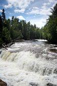 Lower Tahquamenon Fall In Michigan
