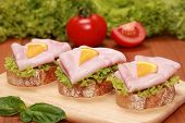 Fingerfood With Ham