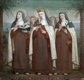 Bl. Archangela Girlani, Frances d'Amboise and Joan of Toulouse, Carmelite Saints, The Church Stella