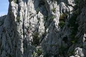 Rock en el Parque nacional Paklenica
