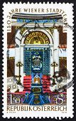 Postage stamp Austria 1976 Vienna City Synagogue